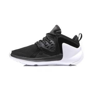 Li-Ning 2017 Dwade Preacher Men's Basketball Culture Shoes - Black/White