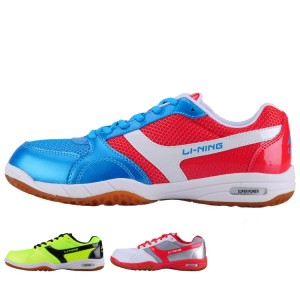 Li-Ning Women's Super Power Table Tennis Indoor Training Breathable Anti-Slippery Hard-Wearing Sneakers