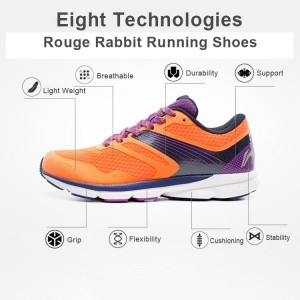 Li-Ning Mens Rouge Rabbit Smart Running Shoes | 2016 Release