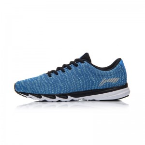 Li-Ning Men's 2017 BLAST Light Running Shoes Breathable Textile Sneakers - Blue