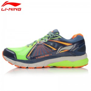 Li-Ning Mens Smart Running Shoes FURIOUS RIDER TUFF OS Stability Sneakers