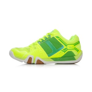 Li-Ning TD Women's Badminton Training Shoes-Bright Green/Green