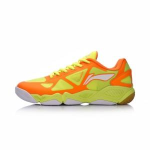 Li Ning 2017 Multi Accelerate TD Mens Badminton Training Shoes - Orange/Green