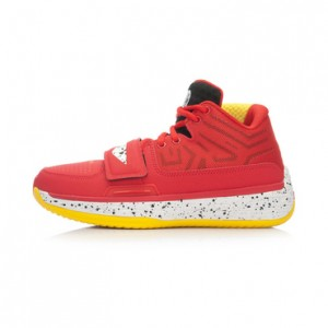 """Li-Ning WoW 4 Wade Fission 2.5 """"Code Redt""""-Black/Red/Yellow"""