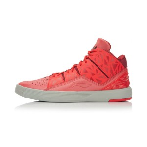 Li-Ning Wade Chillout 4 Men's Lifestyle Basketball Shoes - Red/Cool Grey