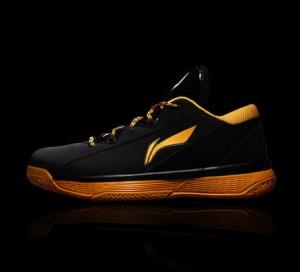 Li-Ning Way of Wade 2 All City Low Basketball Shoes - Black/Orange/White