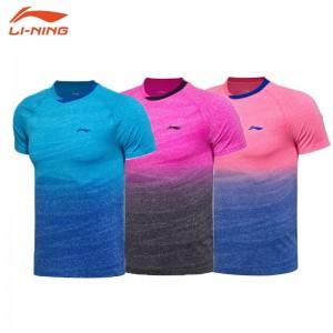 Li-Ning 2017 Men's Badminton Racing T Shirts