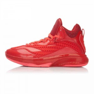 CBA X Li-Ning Cleanthony Early Speed 2 Basketball Shoes - Fire Red/Holly Red