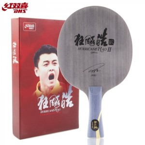DHS Double Happiness Wang Hao Hurricane Hao 2 Table Tennis Blade