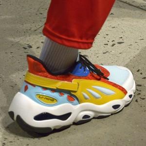 "Li-Ning 2018 NYFW ""Butterfly"" New York Fashion Week Show Men's Sports life Shoes"