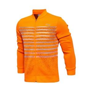 Li-Ning 2017 All England Open China National Badminton Team Mens Medals Jacket - Fluorescent Orange