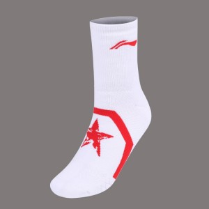 LI-NING 2018 New Men's Badminton Sports Socks