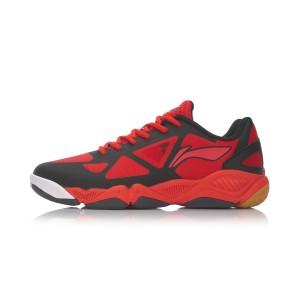 Li Ning 2017 Multi Accelerate TD Mens Badminton Training Shoes - Black/Red