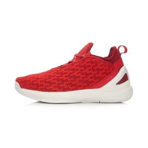 """Li-Ning """"Speed"""" Mens 2016 Summer Basketball  Culture Shoes - Red/Vermilion"""