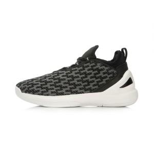 "Li-Ning ""Speed"" Mens 2016 Summer Basketball  Culture Shoes - New Black/White"
