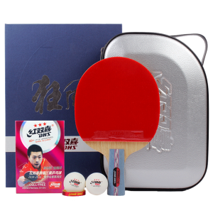 DHS Double Happiness HURRICANE No.1 & No.2 Ping Pong Paddle Penhold & Shake-hands Grips Table Tennis Racket