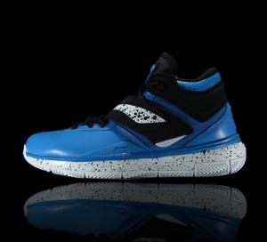 Li Ning WoW 3.0 Wade 808 professional men's basketball game shoes-Black/Blue